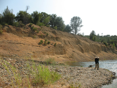 Legacy of hydraulic gold mining in the Sierra Nevada of California